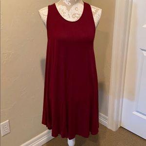 Adorable crimson colored dress ❤️